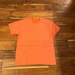 Lululemon metal vent tech shirt - orange